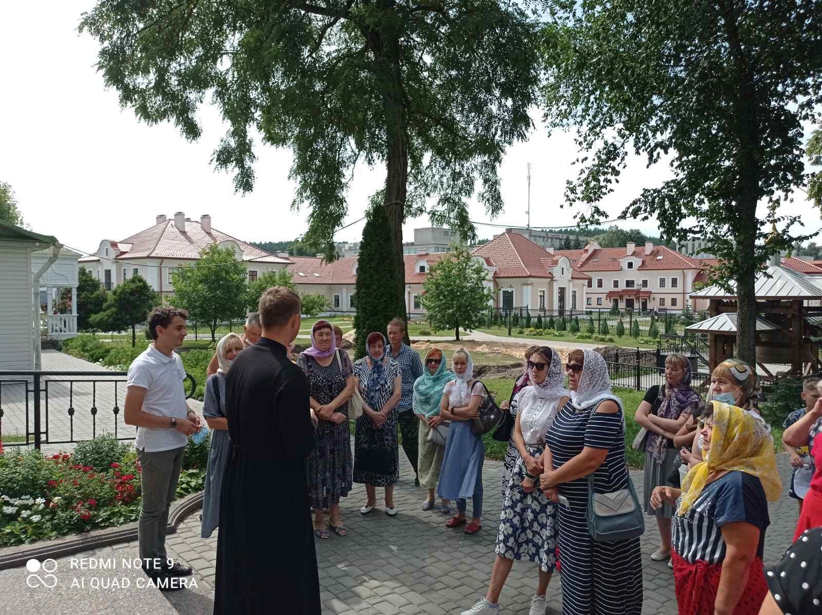 Экскурсия в Свято-Успенский Жировичский монастырь