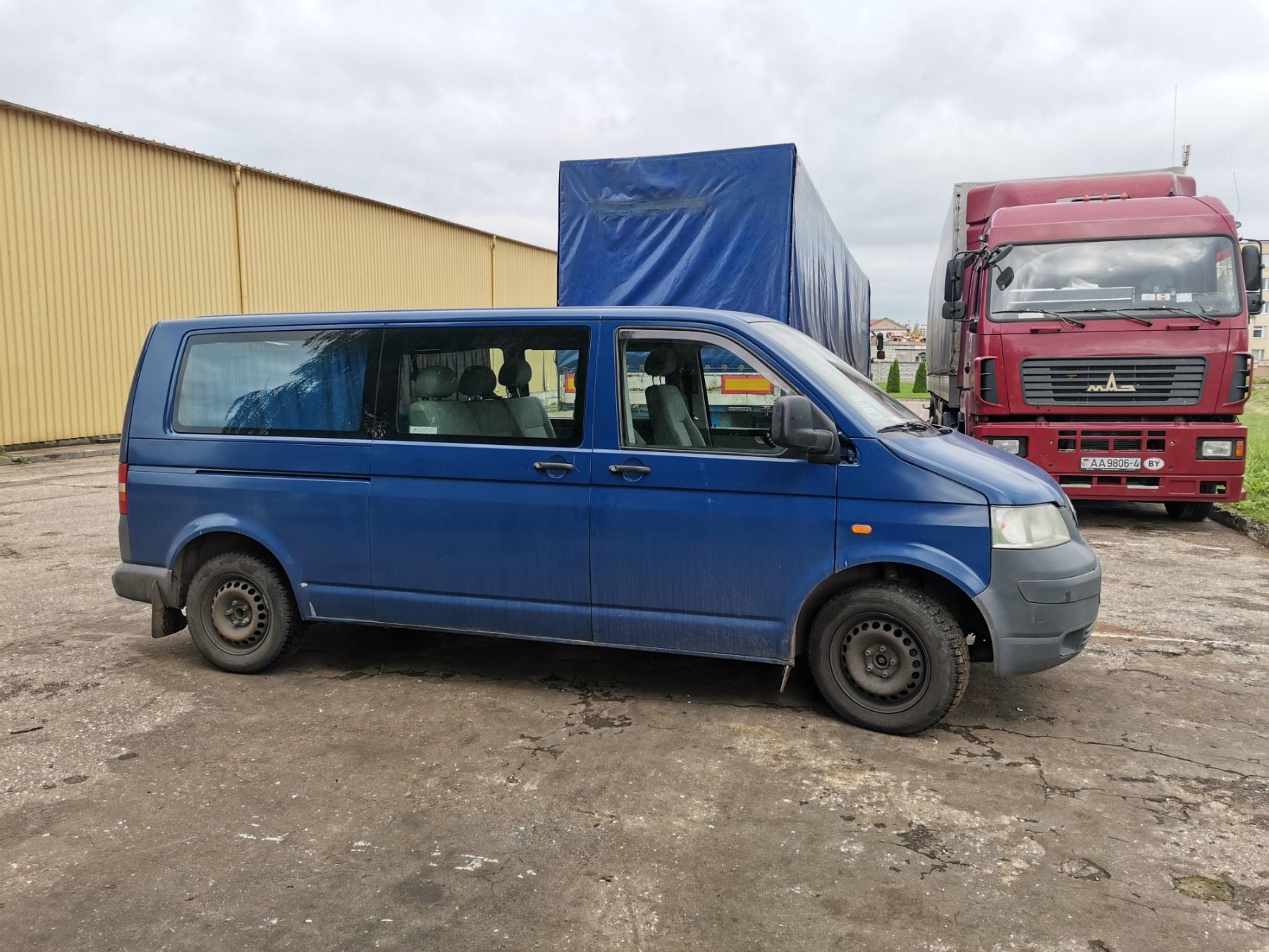 ОАО «Радиоволна» продает Фольксваген транспортер T5